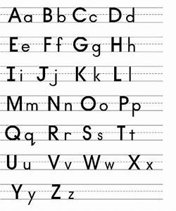 Capital and lowercase letters to print kiddo shelter for Learning lowercase letters