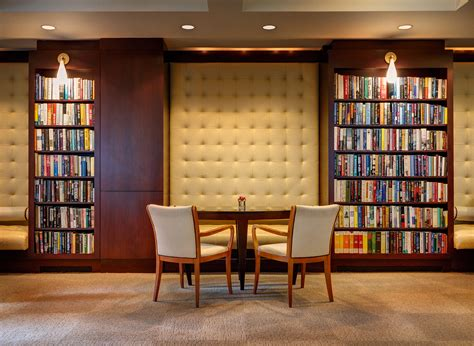Living Rooms That Sport A Book Collection by Library Hotel New York City Luxury Accommodation Nyc