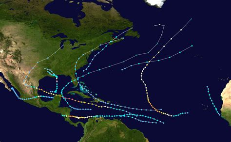 1988 Atlantic Hurricane Season Wikipedia