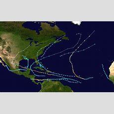 1988 Atlantic Hurricane Season Wikipedia