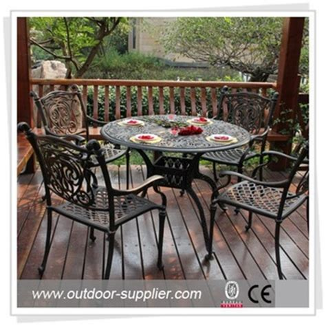used tables and chairs patio aluminum furniture buy