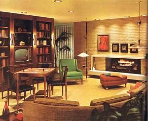 Living Style Möbel : mid mod living room 1960 mid century wohnzimmer ~ Watch28wear.com Haus und Dekorationen