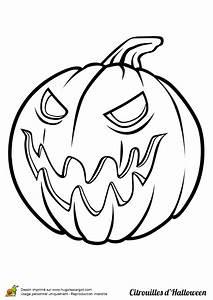 Dessin Qui Fait Tres Peur : coloriage citrouille m chante pour halloween ~ Carolinahurricanesstore.com Idées de Décoration