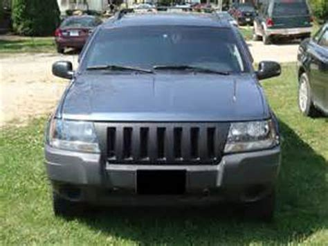jeep grand cherokee front grill 1999 2004 jeep grand cherokee wj abs plastic black front