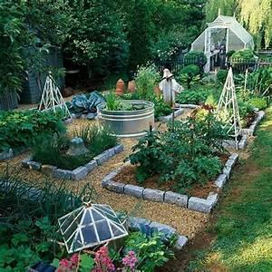 gemusebeet planen mit holzkisten stein begrenzung garden With garten planen mit vinyl balkon