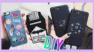 DIY FUNDAS PARA EL CELULAR TUMBLR FACILES 💓| DIY PHONE ...
