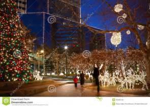 christmas lights stock photo image of winter america 35469142
