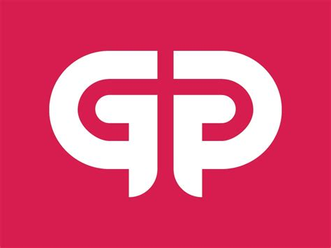 gp monogram logo  kevin greene  dribbble