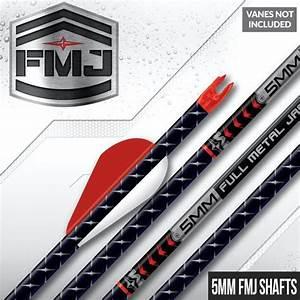 Easton Arrow Spine Chart Easton Fmj 5mm Carbon Shafts Full Metal Jacket