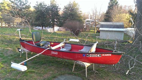Canoes With Electric Motors by Diy Trolling Motor Mount For Canoe Diy Do It Your Self