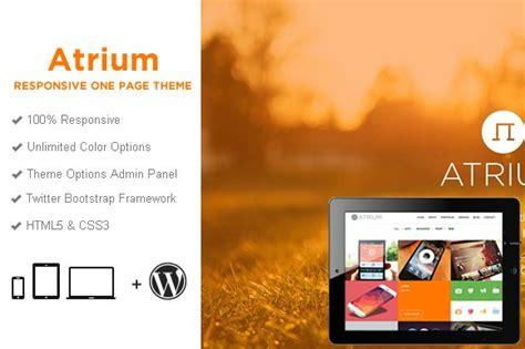 Atrium One Page Parallax Wp Theme