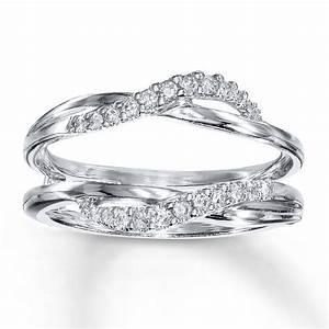 gold wedding rings gold diamond ring enhancers With ring enhancer wedding band