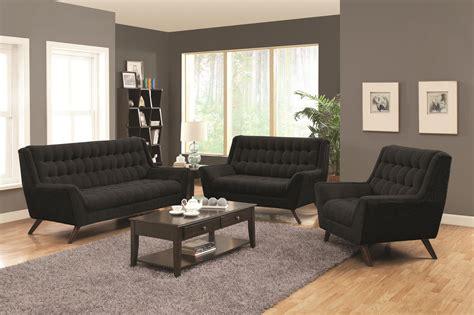 Sofa Deals by Fabric Sofas Retro Modern Living Room Set Co 503774