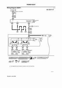 Bk 5920  2005 Nissan Maxima Power Seat Wiring Diagram