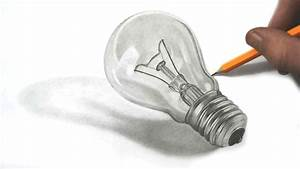 Drawing a Realistic Lightbulb in Graphite Pencil | Art ...