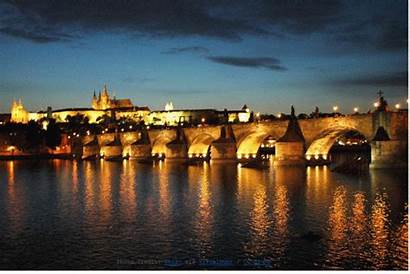 Prague Charles Bridge Night Ghost Story