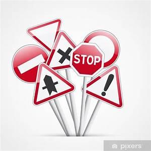Code De La Route Signalisation : sticker code de la route signalisation pixers nous vivons pour changer ~ Maxctalentgroup.com Avis de Voitures