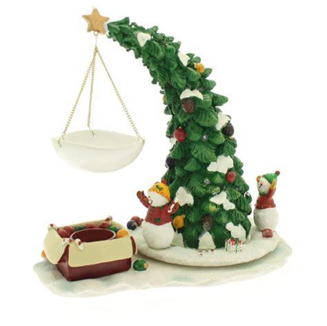yankee candle christmas tree wax burner ebay