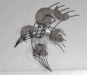Metall Deko Wand : wanddekoration aus metall einige ideen f r ein deko im angesagten industriestil haus best ~ Markanthonyermac.com Haus und Dekorationen