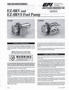 Class A Customs  Great Plains Fuel Transfer Pump Ez8rv