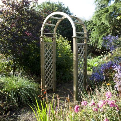 Blooma Chiltern Wooden Garden Arch  What Shed