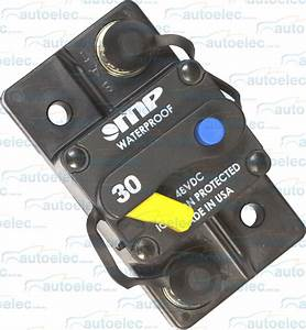 Mp Heavy Duty Circuit Breaker Dual Battery System 30 Amp 12v 12 Volt Fuse Reset