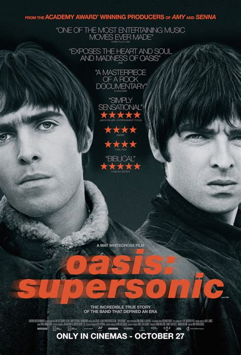 oasis documentary supersonic  hit canadian theatres