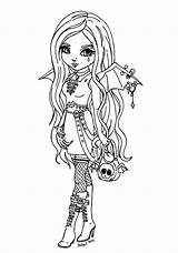 Pages Easy Tinkerbell Coloring Printable Goth Colouring Getcolorings sketch template