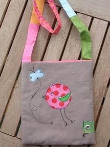Kindertasche Selber Nähen : tasche mit vogel applikation n hideen taschen n hen n hen und applikationen n hen ~ Frokenaadalensverden.com Haus und Dekorationen