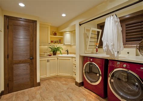 Small Space Solution Kitchen And Laundry Room Combo
