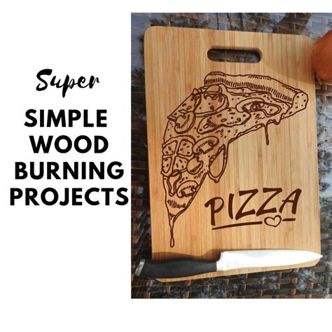 super simple wood burning projects  beginners