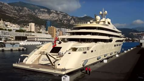 Yacht Videos by Mega Yacht Video Dilbar In Monaco Yacht Charter