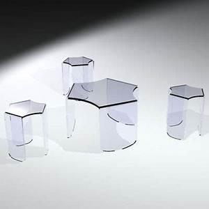 Table Basse En Plexiglas : table basse gigogne plexiglas marcorelles ~ Teatrodelosmanantiales.com Idées de Décoration