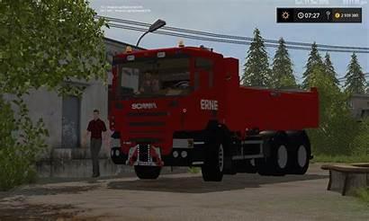 Scania Benne P420 Remorque Erne Fs17 Fs