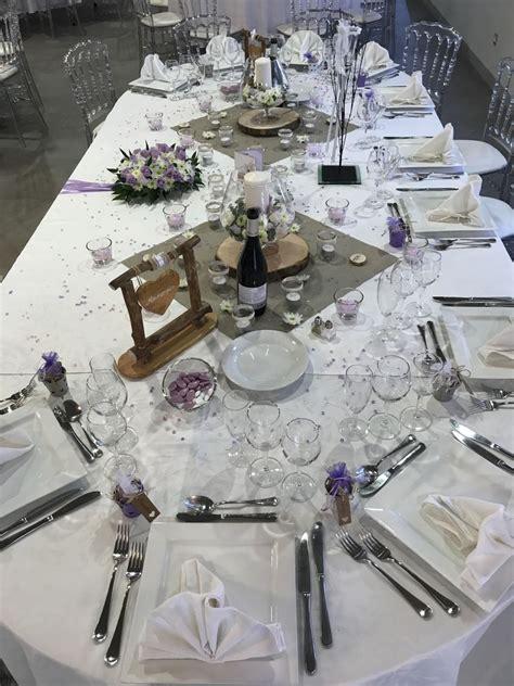 decoration de table pour mariage theme champetre parme