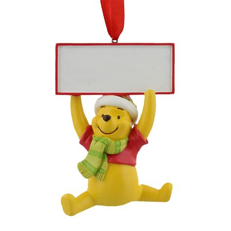 winnie  pooh christmas tree decoration hanging ornament