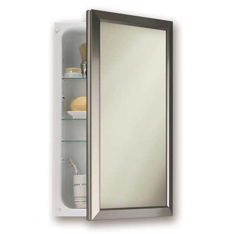 install recessed medicine cabinet good recessed medicine cabinet no mirror homesfeed