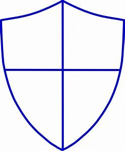 blank shield template printable pictures to pin on With shield template to print