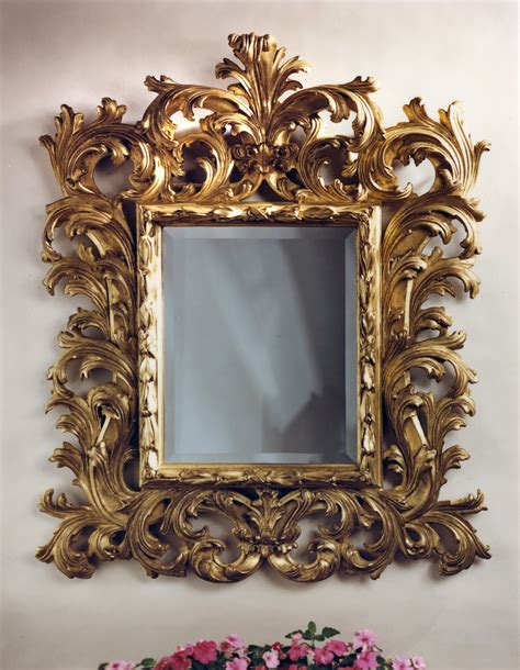 baroque mirror frame mirror ideas
