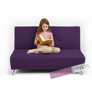 Violet clic clac enfants 2 places sofa lit invite soiree for Petit canapé enfant