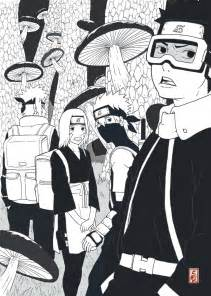 Naruto and Kakashi Fan Art