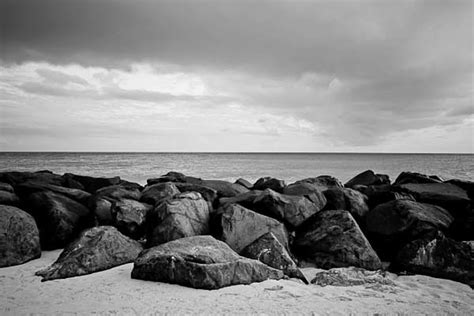 rocks barbados black  white photography  sale