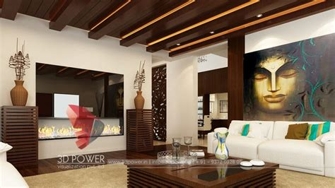 Room Interior by 3d Interior Design Rendering Services Bungalow Home