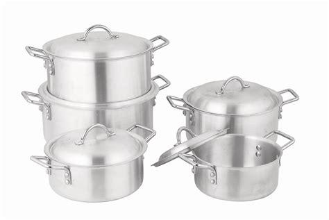 aluminum cookware steel stainless cooking pot aluminium cast types iron advantage copper