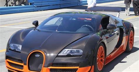 New Bugatti Veyron Super Sport Top Speed