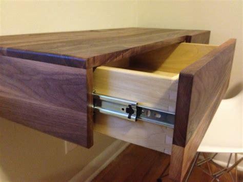 how to make a floating desk walnut floating desk image 1329931488 jpg home desk