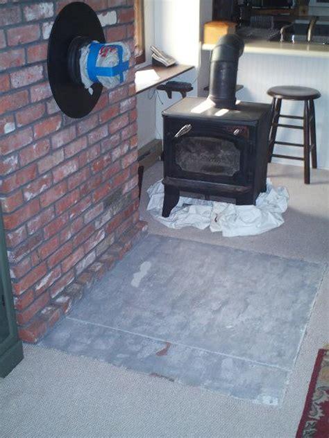 painting  woodstove brick hearth painting diy