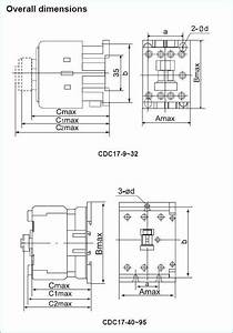 Phase Reversing Motor Contactor With Wiring Diagrams