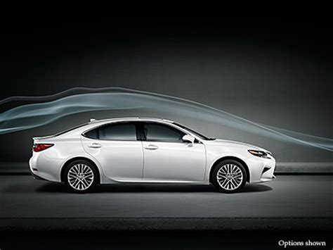 lexus es luxury sedan performance lexuscom