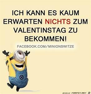 Valentinstag Lustige Bilder : pin von simone auf minions valentinstag spr che lustig und valentinstag lustig ~ Frokenaadalensverden.com Haus und Dekorationen